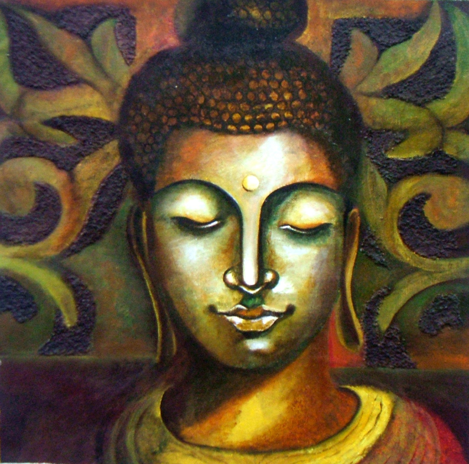 Buddha art contemporary paintings online buddha sciox Image collections