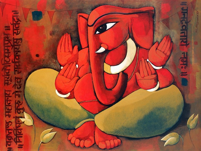 Figurative Paintings Online Ganesha
