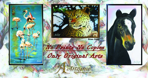Landscape Paintings original animal arts