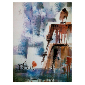 BUY ABSTRACT PAINTINGS ONLINE 'ABSTRACT GAL'