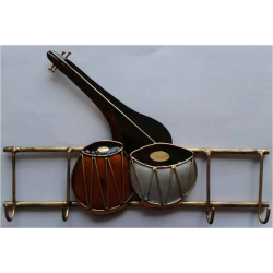 Key Holder 'Veena & Tabla'