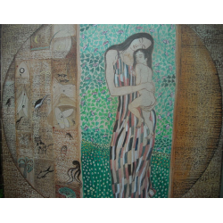 Figurative Paintings Online 'Mother and Child'