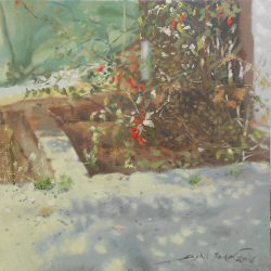 PAINTINGS ONLINE 'THE BACKYARD'