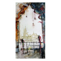 BUY LANDSCAPE PAINTINGS ONLINE 'TEMPLE BELLS'