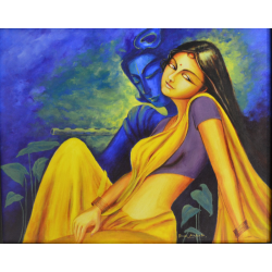 PAINTINGS ONLINE 'TWAMEVAHAM RADHAKRISHNA 4'