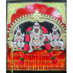 Tanjore Painting 'God and Goddess'